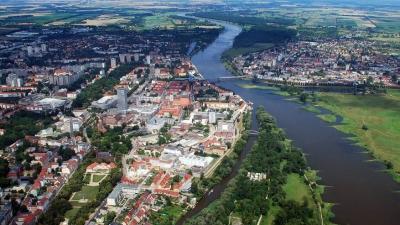 Frankfurt Oder: langs het water komt de DDR terug tot leven