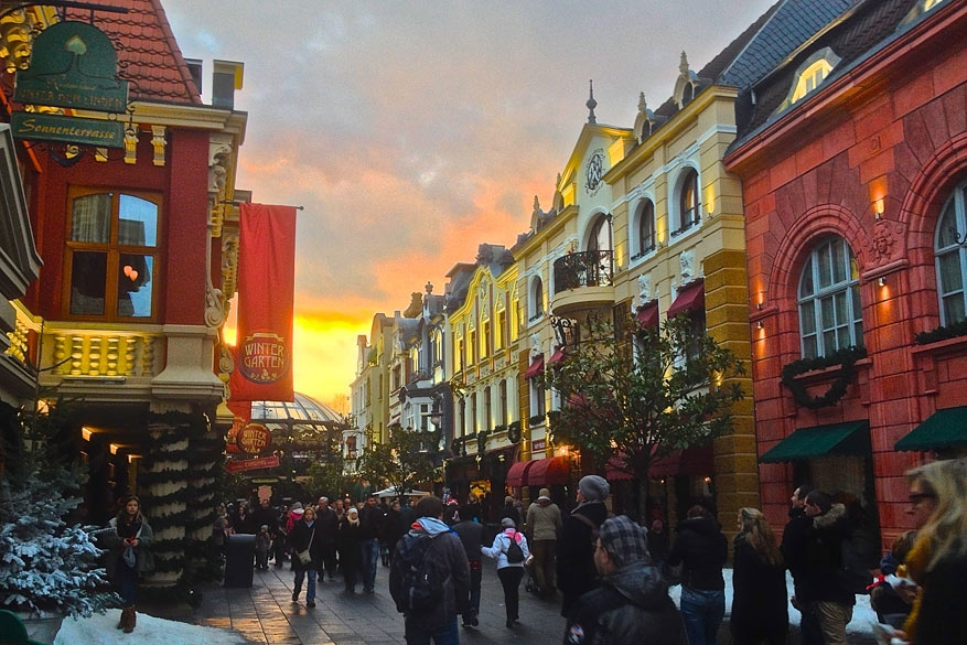 Phantasialand viert de winter met Wintertraum